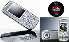Sony Ericsson k700i Silver (sin bloqueo SIM) quickshare tribanda cámara radio mp3 bien