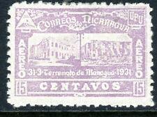 Nicaragua 1932 ⭐ Earthquake Issue ⭐ 15¢ ⭐ Mint ⭐ T174 ⭐☀⭐☀⭐☀⭐