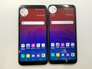 Lot of 2 LG Q7 Plus Q610MA MetroPCS Check IMEI Fair Condition IG-876