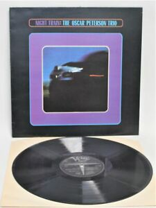 OSCAR PETERSON TRIO 'Night Train' Stereo Vinyl LP on Verve Records - M19