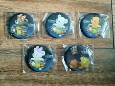 Disney D23 Expo Japan 2015 Duffy & Friends Badges X5