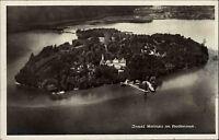 Insel Mainau Bodensee AK 1931 gelaufen nach Elberfeld Fliegeraufnahme Luftbild