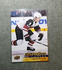 Clayton Keller 2017-18 Young Guns Series UD Canvas 1 Rookie Card