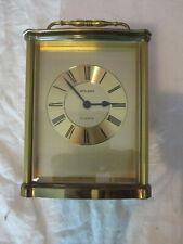 Staiger Chrometron Quartz ältere Uhr Tischuhr Kaminuhr Vintage 70iger Jahre