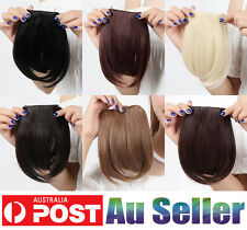 Hot Selling Black/Brown/Blonde Clip in Bangs/Fringe Hair Extension for Human io