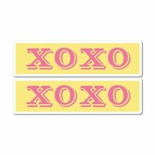 2X Hugs And Kisses Xoxo Sticker Decal Funny Hype Popular Car Silly Laptop Cool