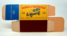 "Matchbox Models of Yesteryear Y-16A Spyker leere originale ""D"" Box top"