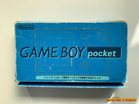 GAME BOY Pocket Console Clear Blue ANA Limited Boxed MGB-001 Nintendo JAPAN