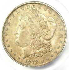 1878-CC Morgan Silver Dollar $1 Carson City Coin - Certified ANACS AU55 Details