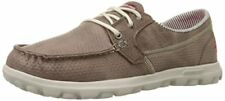 Women Skechers on The Go-tide 13806brn Brown Casual Lace up Oxford Boat Shoes 7