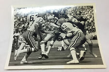 vintage football photo ~ CLEVELAND BROWNS vs PITTSBURGH STEELERS ~ 6x8 inches