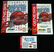 COLLEGE SLAM Mega Drive Genesis Md American version 1996 •••• COMPLETO