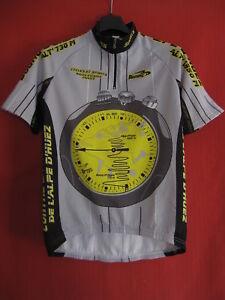 Maillot cycliste Contre la montre alpe d'huez Cyclisme Jersey Biemme - 1 / XS