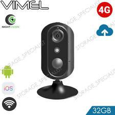 Cloud Security Camera 4G Smart Wireless Alarm System Live View Home WIFI 3G SIM