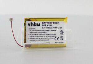 VHBW PDA Battery for Palm m550 - Tungsten T/T2/T3/T5 (WC48337)
