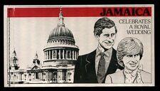 Jamaica 1981 SG#SB16 Royal Wedding Booklet #C5212