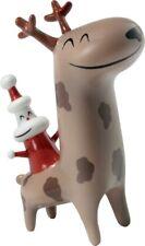 Designer Alessi Christmas Cowboy' Santa Ornament Reindeer Decoration Festive