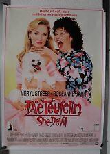 DS879 - Gerollt/KINOPLAKAT - DIE TEUFELIN/SHE DEVIL Meryl Streep/Rosanne Barr