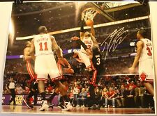 "Taj Gibson Chicago Bulls Signed Large 16 x 20"" Photo Poster Slam Dunk Auto"