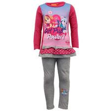Vêtements survêtements gris à longueur de manches manches longues pour fille de 2 à 16 ans