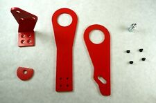 OBX-R Anodized Red Racing Tow Hook For 92-00 Honda Civic / 94-01 Acura Integra
