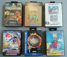 Sega Mega Drive Spiele Sammlung 6 Spiele OVP