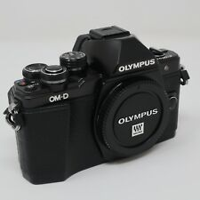Olympus OM-D E-M10 Mark II Body - Black + Remote Release Chord, Spare Battery