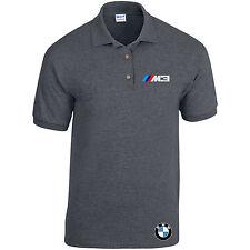 BMW Polo M3 Potencia Beamer Motociclismo Coche Unisex Negro o Heather hasta 2XL