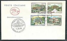 1985 ITALIA FDC CAVALLINO VILLE D'ITALIA NO TIMBRO ARRIVO - EDG9