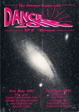 DANCE ZONE Rave Flyer Flyers A5 31/5/91 Two nights/venues THE PRODIGY (live)