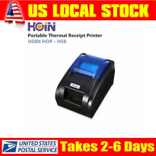 HOIN HOP-E58 58mm USB Thermal Line Printer Bill ESC POS Printer for Supermarket