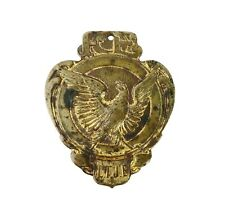 Vintage Eagle Medallion FOE L.T.J.E. Fraternal Order of Eagles Pendant Token