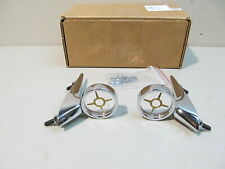 NEW 1960 FORD GALAXIE, FAIRLANE 500, SUNLINER, SKYLINER FENDER TOP ORNAMENTS