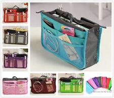Joblot x4 Women's Multi 12 Pockets Removable/Insert Cosmetics Bags Organizers^