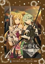 Sword Art Online GAME PROJECT 5th Anniversary Asuna Sinon visualize board JAPAN