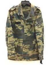 Jaywalker Men's Camouflage Military-Inspired Cotton Long Sleeve Jacket,XL