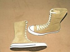 BN Converse JW Anderson Chuck Taylor 13 Hole Leather Suede Sneaker Boot Size 8.5