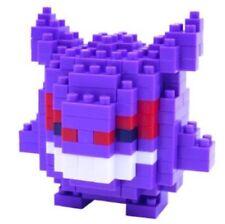 GENGAR POKEMON BUILDING BLOCKS TOYS LEGO MICRO NANOBLOCK ANIME FIGURE PUZZLE ART