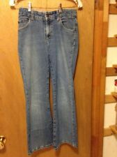 Levi's blue jeans size 14 regular girls 28x27 stretch flare 1% spandex
