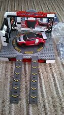 Mega Bloks Need for Speed hot pursuit Audi edition + garage - Not complete
