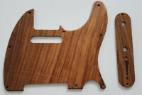 NEW PICKGUARD TELECASTER + Control Plate - bois - fait main - guitare TELE