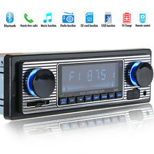 Car Stereo Radio Bluetooth In-dash Head Unit Player FM MP3/SD/USB/AUX for iPod