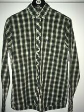 fred perry tartan shirt Size S