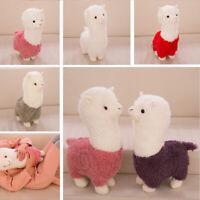 28CM Cute Alpaca Plush Doll Stuffed Animal Toy Funny Kids Gift Home Decor Hot
