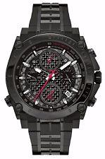 Bulova Men's 98B257 Precisionist Chronograph Black Stainless Steel Watch