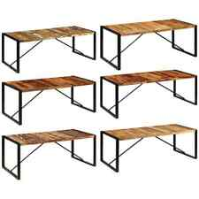 vidaXL Solid Sheesham Wood Dining Table Kitchen  Dining Room Home Multi Sizes