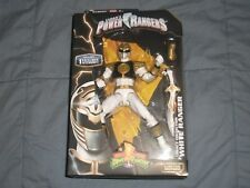 SABAN'S MMPR MIGHTY MORPHIN POWER RANGERS LEGACY WHITE RANGER ACTION FIGURE