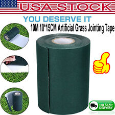 10m Artificial Grass Turf Tape Self Adhesive Joining Lawn Seaming Jointing Tape