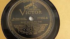 Duke Ellington - 78rpm single 10-inch  Victor #27356 Blue Serge