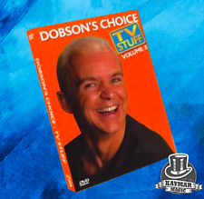 Dobson's Choice - TV Stuff DVD by Wayne Dobson - amazing magic brand new DVD